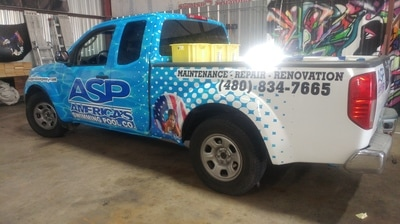 Advertisement Vinyl Wrap | Phoenix AZ | Vinyl Vixen Wraps